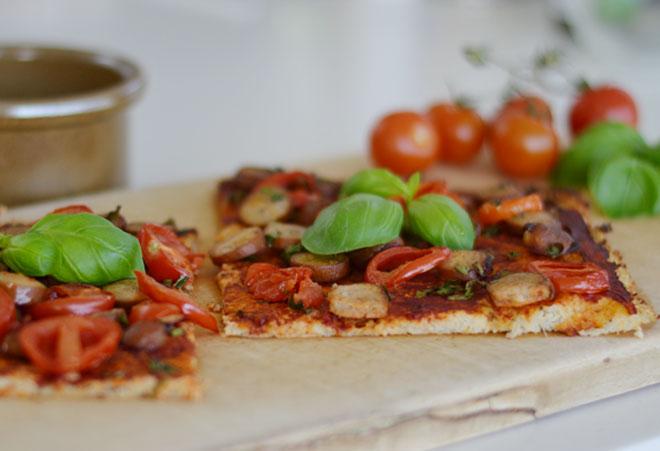 Blomkaalspizza