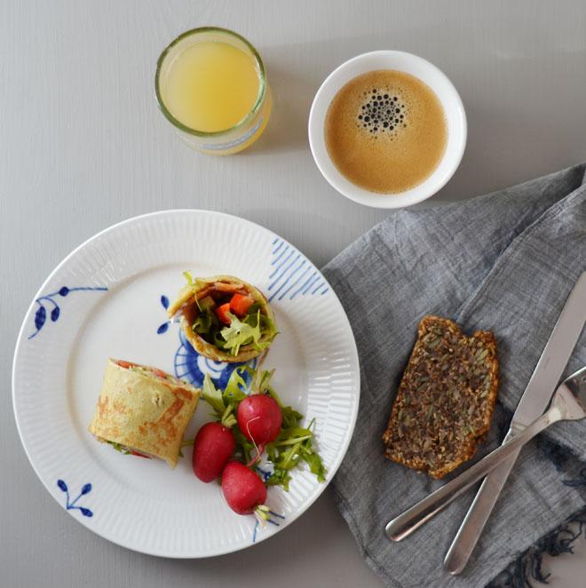 Omeletrulle med laks1